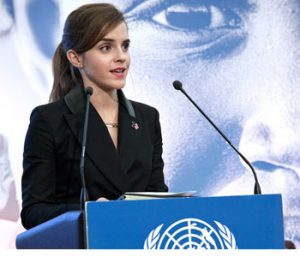 (Davos, 23 January 2015) – At the World Economic Forum in Davos today, UN Women, the United Nations entity dedicated to achieving gender equality and women's empowerment unveiled the HeForShe IMPACT 10X10X10 pilot initiative to galvanize momentum in advancing gender equality and women's empowerment. The HeForShe campaign's IMPACT 10X10X10 initiative is a one-year pilot effort that aims to engage governments, corporations and universities as instruments of change positioned within some of the communities that most need to address deficiencies in women's empowerment and gender equality and that have the greatest capacity to make and influence those changes. Each sector will identify approaches for addressing gender inequality, and pilot test the effectiveness of these interventions for scalability. The initiative was launched at a press conference attended by H.E President Paul Kagame of Rwanda; H.E. Prime Minister Stefan Löfven of Sweden; UN Secretary-General Ban Ki-moon, UN Under-Secretary-General and Executive Director of UN Women Phumzile Mlambo-Ngcuka; UN Women Global Goodwill Ambassador, Emma Watson; and Paul Polman, CEO and Chairman of Unilever.